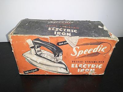 Speedie Deluxe Streamlined Electric Iron - Made in Australia