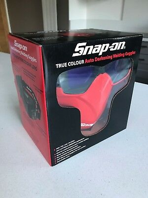 *NEW* Snap On True Colour Lens Auto Darkening Welding Goggles WSADWGS