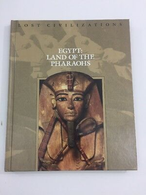 Lost Civilizations: Egypt : Land of the Pharaohs (Hardcover, 1999) TIME LIFE