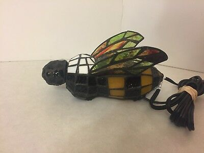 Bumble Bee - Tiffany Light Lamp - Accent Lamp