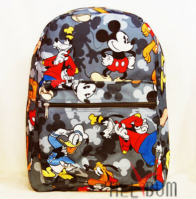 Disney Mickey Mouse Backpack 16 Large U S A School Bag