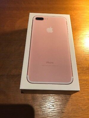 Apple iPhone 7 PLUS - 128GB - Rose Gold BOX ONLY