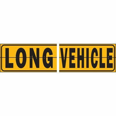 Colourcorp Long Vehicle Sign Metal Hinged 2 Piece Equal Lengths - CIXT009/2EHM