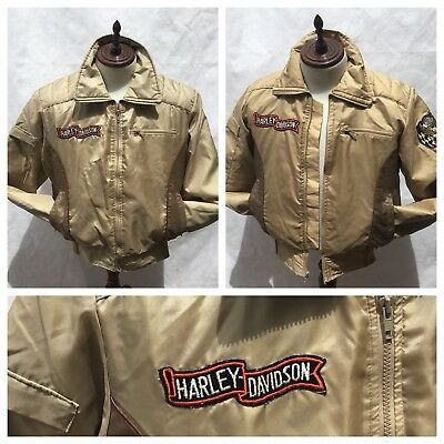 Funky~Retro~Vintage Unisex Harley Davision Jackets~His And Her'S~Rare 1980'S
