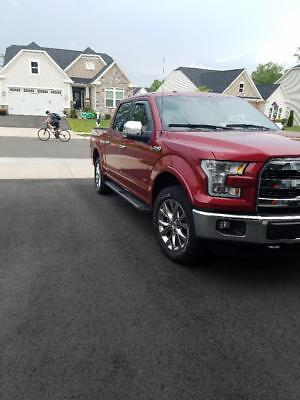 2015 Ford F-150  2015 Ford F-150 Lariat Series Super Crew Ruby Red