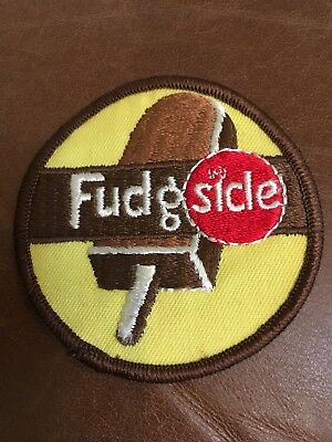 Vintage 3 Inch Fudgsicle Ice Cream Patch