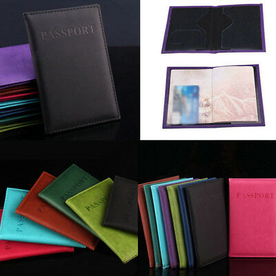 Travel Passport Tickets Credit ID Card Document Wallet Holder Cover Organizer