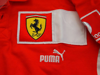 seltenes Ferrari Polo Shirt ungetragen mit Applikationen Polo-Shirt