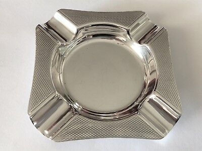 Vintage Sterling Silver Ashtray - Garrard & Co  - Birmingham -1959