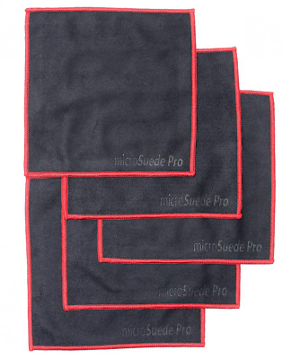 5-pack Premium Microfiber Cleaning Cloth For Glass Camera Lenses Phones New