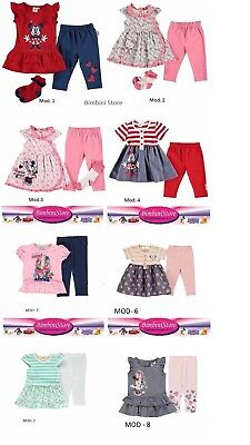 completo neonata minnie hello kitty originale disney set tre pezzi vestito