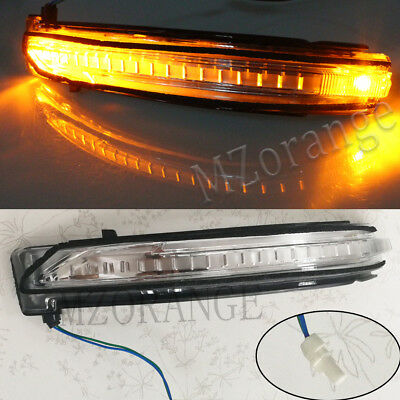 Right Side For Nissan X Trail 2014-2018 LED Door Wing Mirror Indicator Light RH