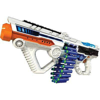 Machine Gun Motorized Automatic Belt Blaster Kids Toy Dart Nerf Ammo Strike Game