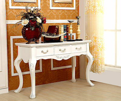 Brand New  3 DRAWERs FRENCH PROVINCIAL console /hall table /study desk