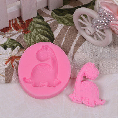 Lovely Dinosaur Shaped DIY Handmade Fondant Mold Chocolate Soap Cake Tools、New