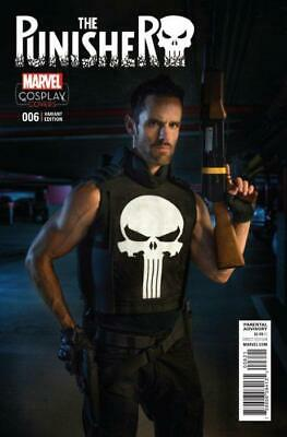 Punisher #6 (Vol 11) Cosplay Variant Cover