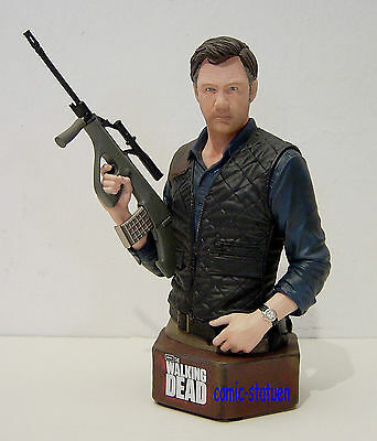 Gentle Giant The Walking Dead The Governor 1:6 Resin Bust / Büste Statue Figur .