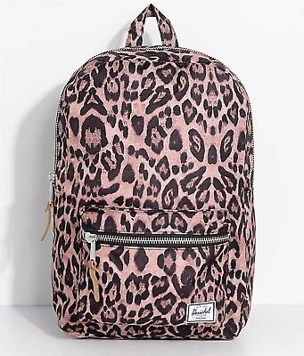 e672744882e NWT Herschel Supply Co. Settlement Mid Volume Leopard Brown 17L Backpack  Campus