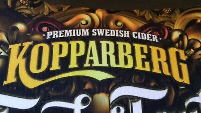 Bar Mats Runners Kopparberg Ciders Pear & A Touch Of Fruity Man Cave Home Bar