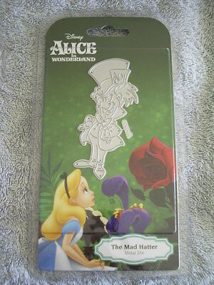 all time favourite - THE MAD HATTER DIE - ALICE IN WONDERLAND - DISNEY DIS2011