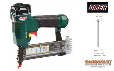 21 Gauge Micro / Headless Air Brad Nailer By Omer - Mg.40