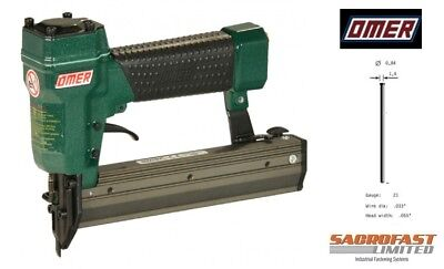 21 Gauge Micro Brad Air Nailer By Omer - Mg.30