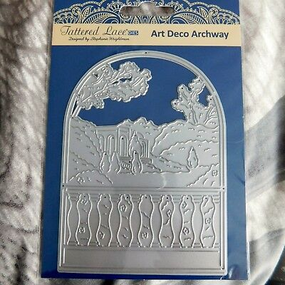ART DECO ARCHWAY DIE SET TLD0267 - TATTERED LACE Stephanie Weightman