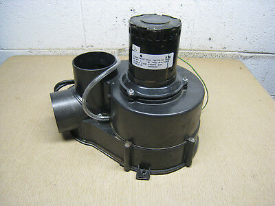 AO Smith 184955-000 JB1R115NSW GPSH 200 Water Heater Exhaust Inducer Motor Used