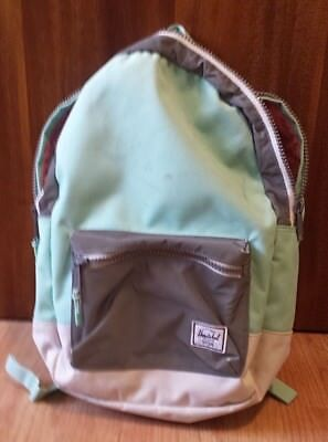 483e1a785bd Herschel Supply Co. Settlement Mid Lucite Green Reflective 17L Backpack -  USED