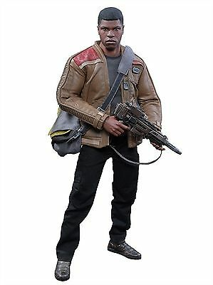 SIDESHOW HOT TOYS STAR WARS EPISODE VII Force Awakens MMS345 FINN FIGUR 1:6 neu