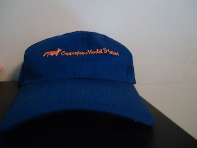Copperfox Model Horses Embroidered Hat royal blue