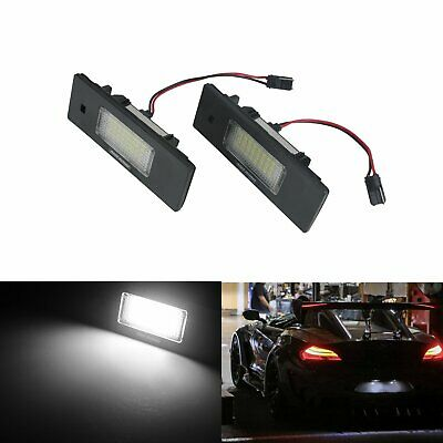 Feux LED De Plaque d'Immatriculation Mini Clubman R55 Countryman R60 Paceman R61