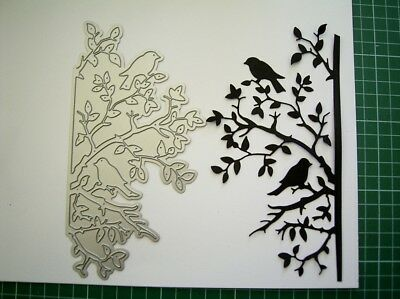 Large - DECORATIVE DETAIL BLISSFUL BRANCHES DIE etl600 TATTERED LACE S Weightman