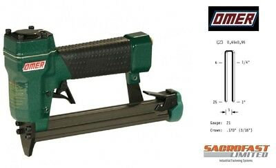 97 Type Narrow Crown Air Stapler By Omer  - 4097.16