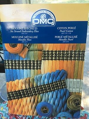 25 Dmc Color Variations Floss New Needlepoint Embroidery Lot A