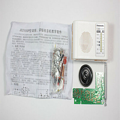 FM AM Radio Kit Parts CF210SP Suite for Ham Electronic lover assemble DIY FD
