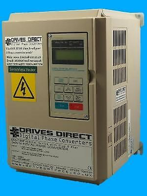 20 HP 220V to 415V DIGITAL PHASE CONVERTER PLUG & PLAY WORKSHOP LATHE MILL SAW