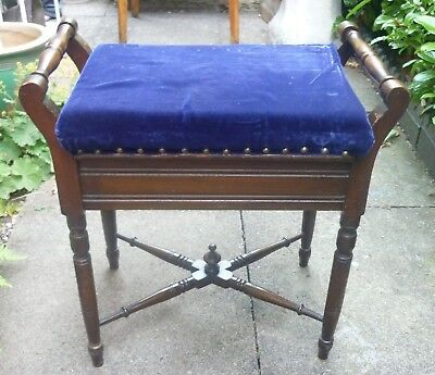 Antique / Vintage Wooden Piano Stool