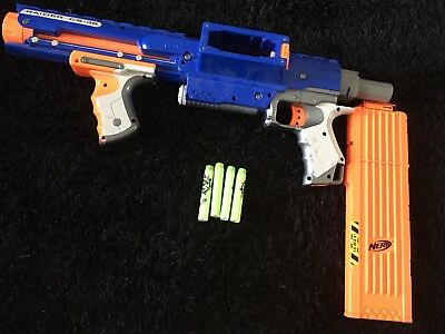 Nerf N-Strike Elite Raider CS-35 + Magazine + AMMO Bullets Darts