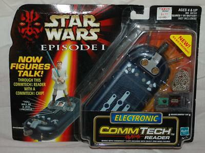 Hasbro Star Wars Episode 1 Electronic CommTech Chip Reader Scanner ~SW21