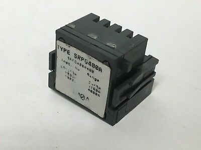General Electric GE SRPG400A400 Circuit Breaker Rating Plug 400A Spectre RMS