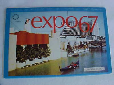 Expo 67 GOOGIE 12 Postcard Set 1967 Montreal Canada World's Fair