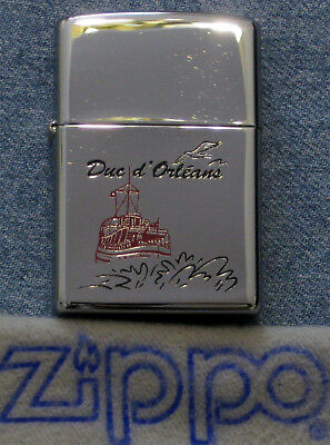 ZIPPO DUC D' ORLEANS Lighter SUB CHASER Ship TOUR BOAT Sealed UNUSED
