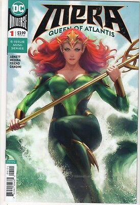 Mera Queen Of Atlantis #1 Cover B Variant Stanley Artgerm Lau NM Aquaman Movie