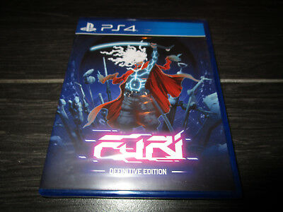 NEW Limited Run Games FURI Definitive Edition Playstation 4 PS4