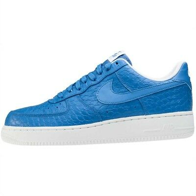 Nike Air Force 1 '07 LV8 Star Blue Summit White 718152-405 Men's Lifestyle Shoes