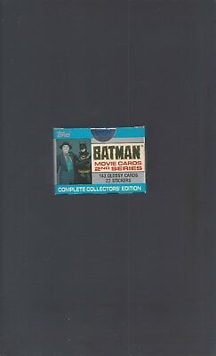 Batman Movie Cards 2nd Series GLOSSY Collectors Edition Sealed Set