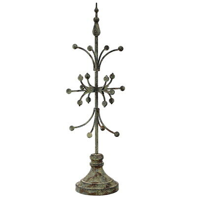 Set /2 Awesome Decorative Distressed  Metal Finial Architectural Element,24''H