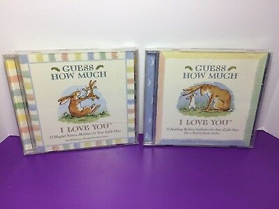 Guess How Much I Love You Soothing Bedtime Lullabies Playful Nature Melodies CDs