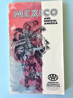 1962-63 Mexico & Central America – AAA Travel Guide